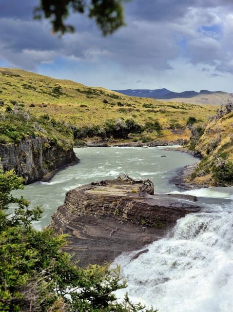 водопад в Патагонии