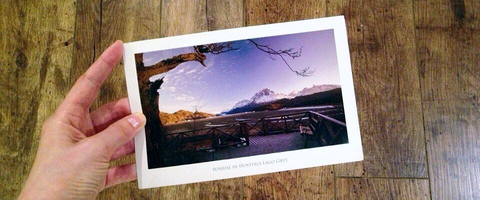 открытка из Патагонии