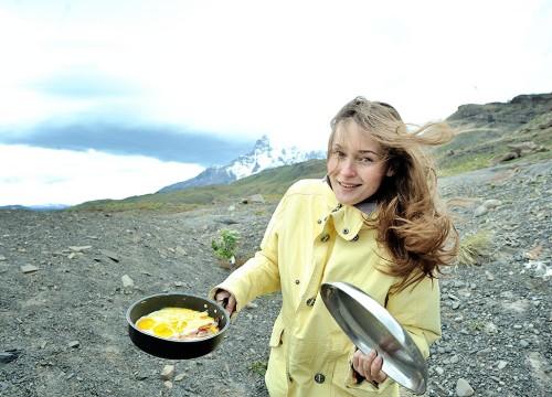 завтрак в Патагонии