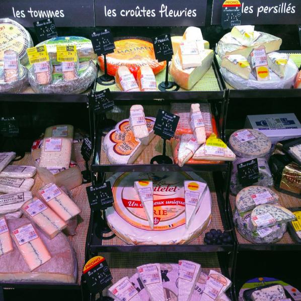 сыры франции