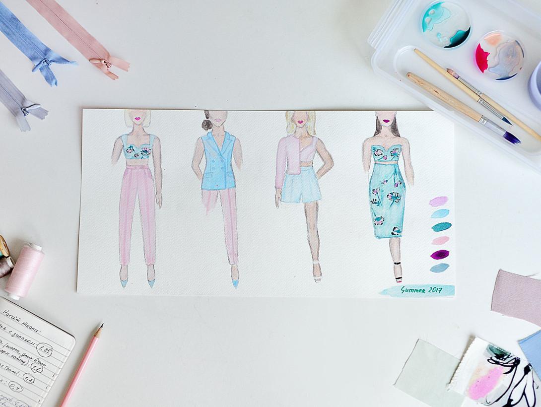 Как создают свою коллекцию одежды