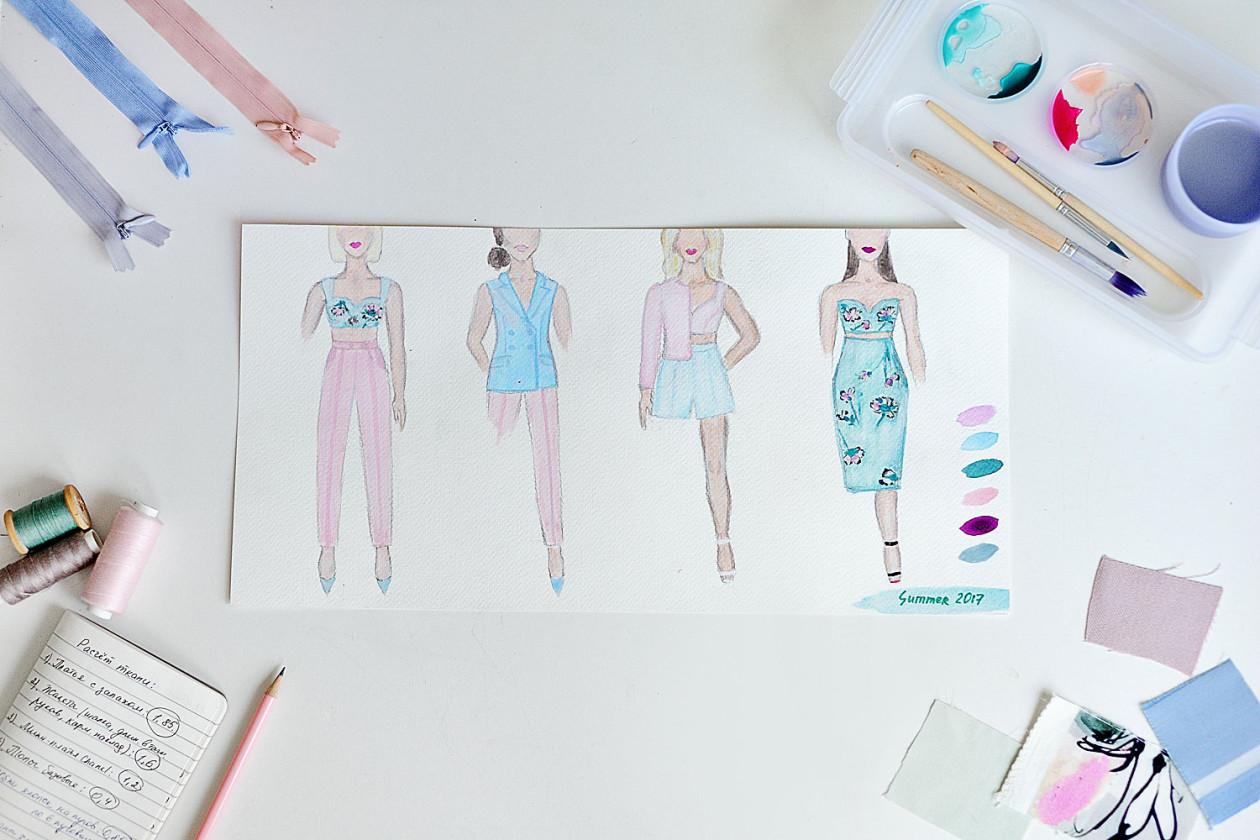 Как создать свою коллекцию одежды