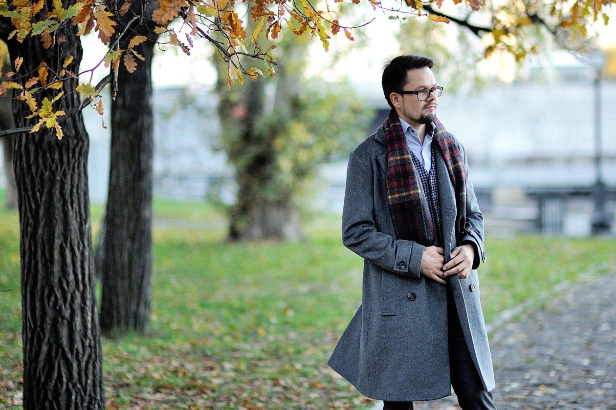 Мужское пальто и с чем его носить